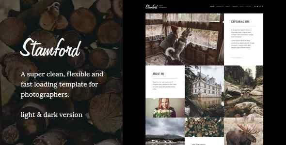 Stamford – Creative Photography Wordpress theme