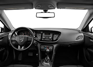 2013 Dodge Dart SE All Black Dashboard