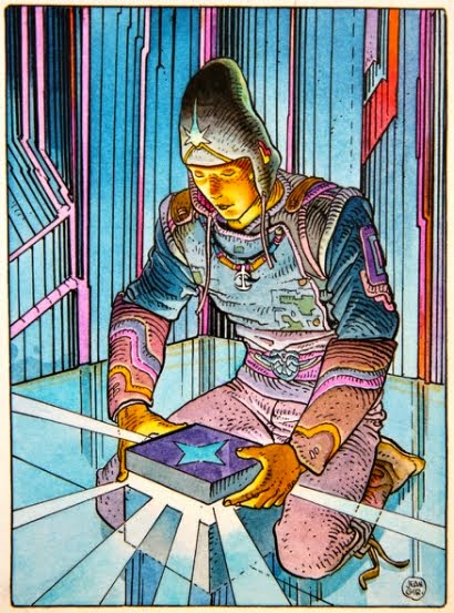 Brushing Up: Moebius