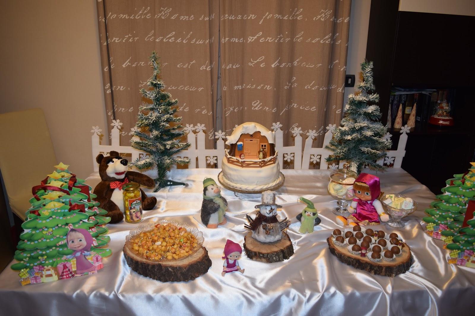 Tavolo Compleanno Bambina : Bimbi a tavola: festa a tema masha e orso?