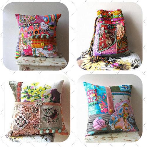 Debra Dorgan All Things Pretty crazy quilt textile art mixed media art