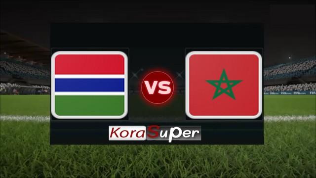اليوم مشاهدة مباراة المغرب وغامبيا بث مباشر 12-06-2019 الثلاثاء