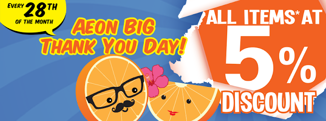 28 Sep 2013 Sat AEON BiG Thank You Day