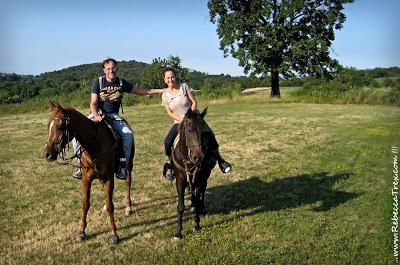 A cavallo sulla Collina Morenica rebeccatrex