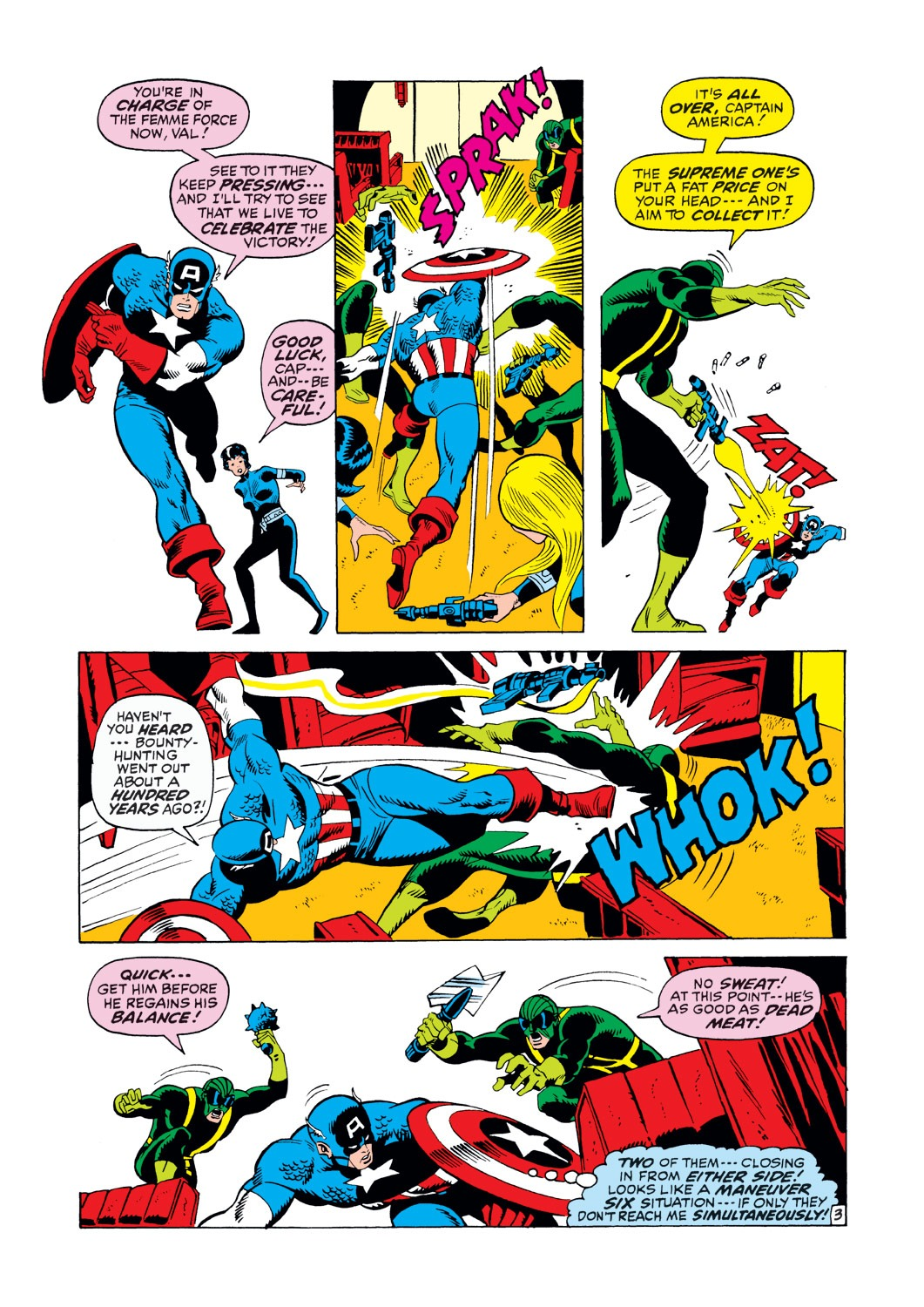 Captain America (1968) Issue #146 #60 - English 4