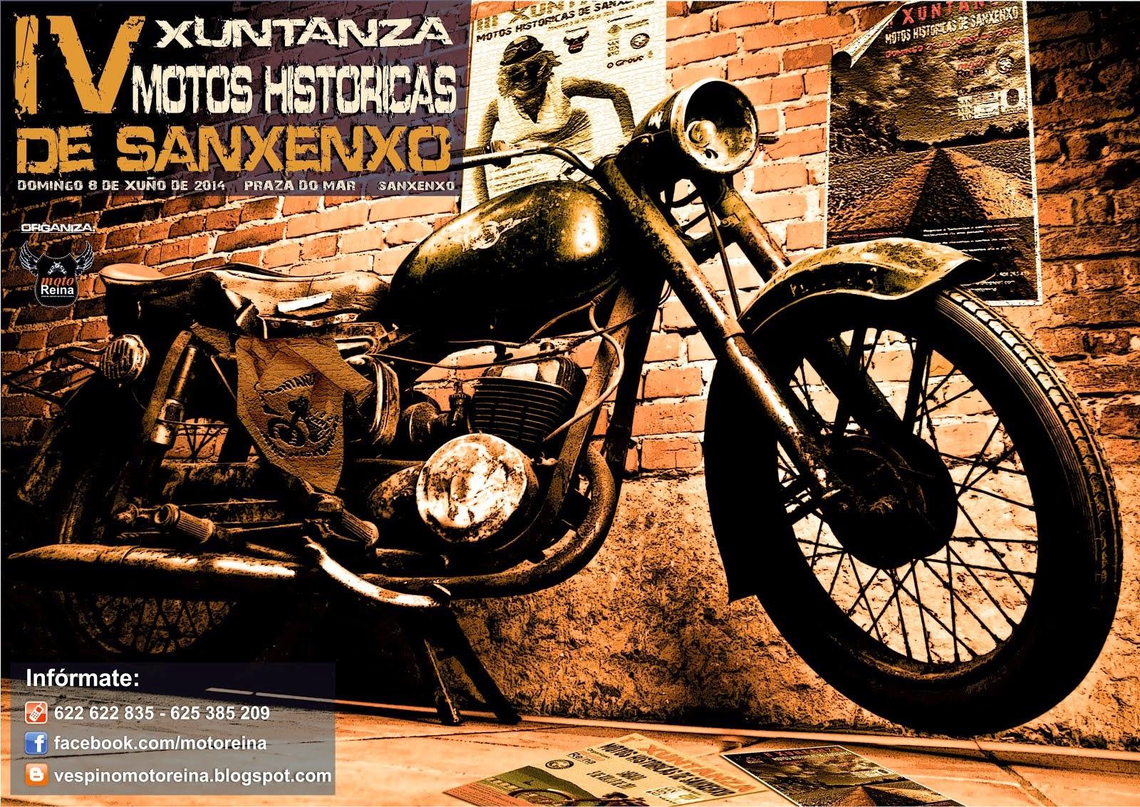 4ª XUNTANZA MOTOS HISTORICAS SANXENXO