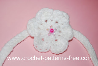 Amy's Crochet Creative Creations: Crochet Headband with flower