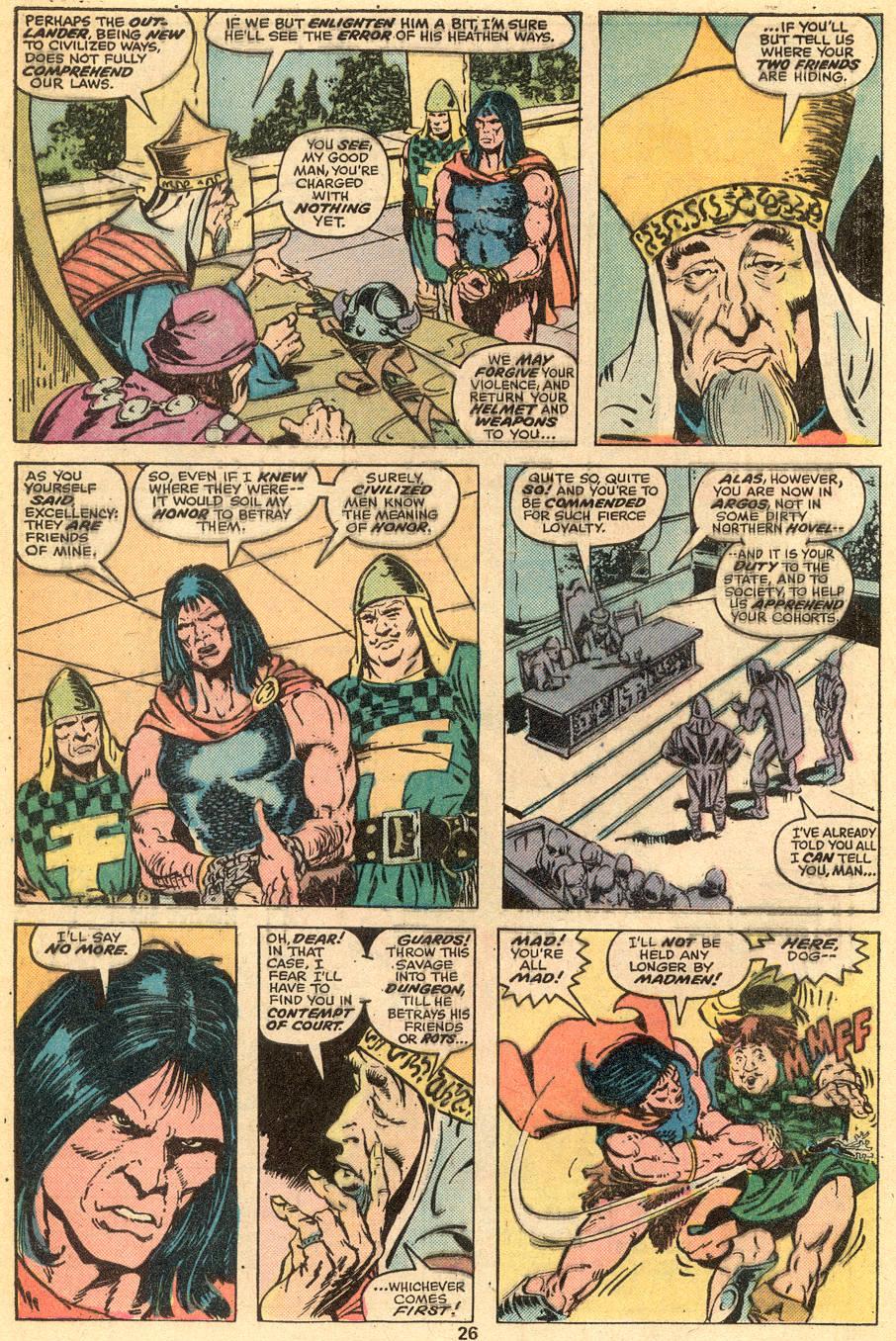 Conan the Barbarian (1970) Issue #57 #69 - English 16