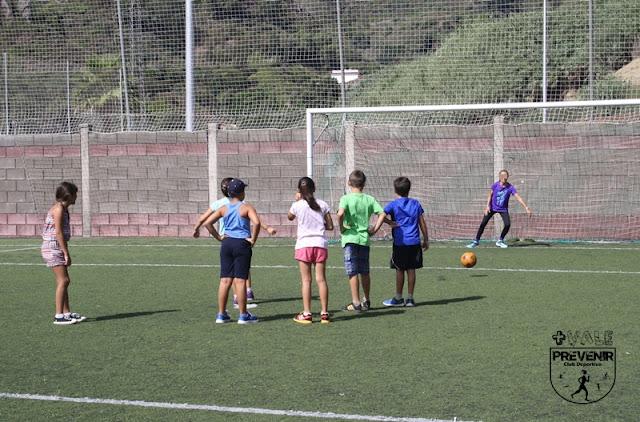 actividad física escuela verano
