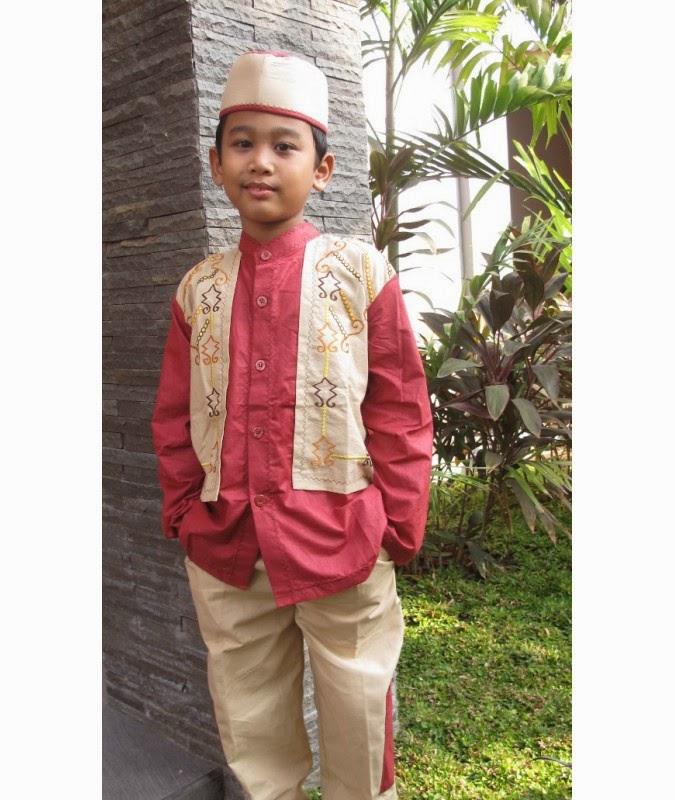 Gambar busana muslim anak laki-laki untuk harian