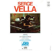 Serge Vella - Airport / Les Canaux de Mars (Vinyl,7\'\') (1977)