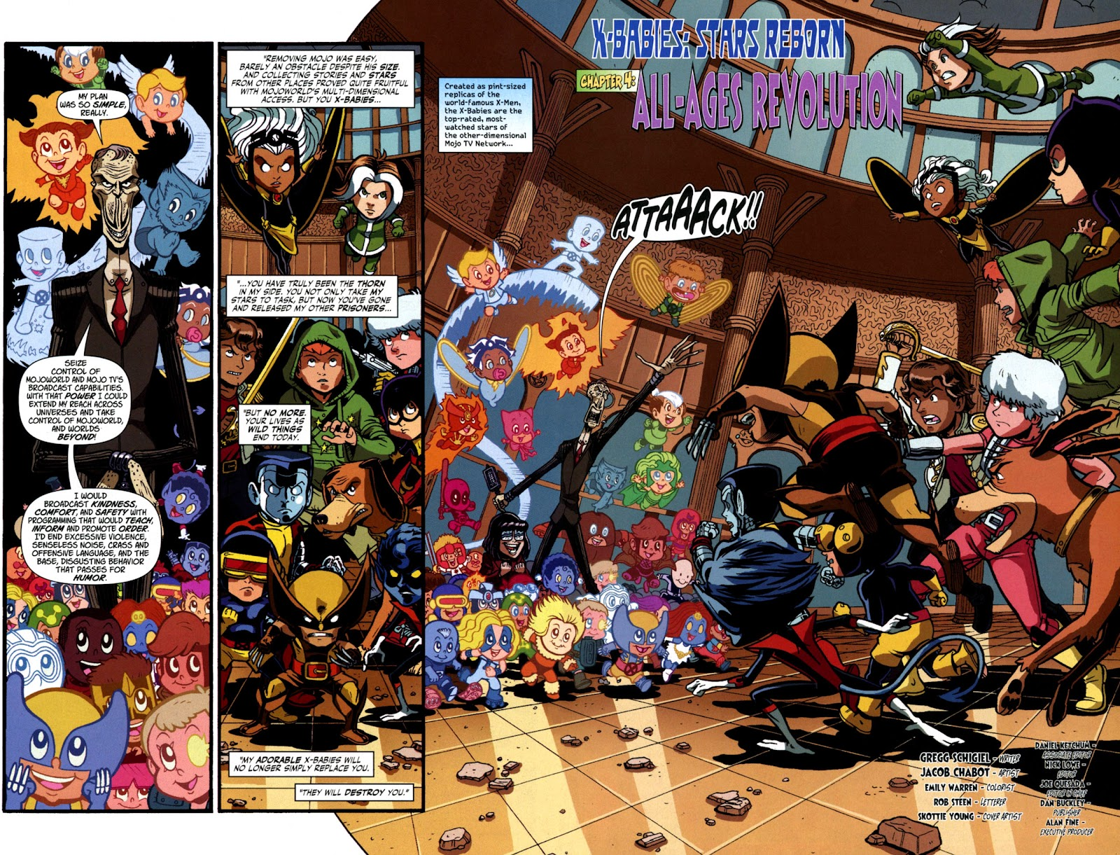 Read online X-Babies comic -  Issue #4 - 4