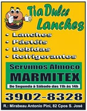 Lanches - Marmitex