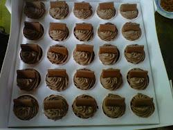 Choc Moist Cadbury Cupcake