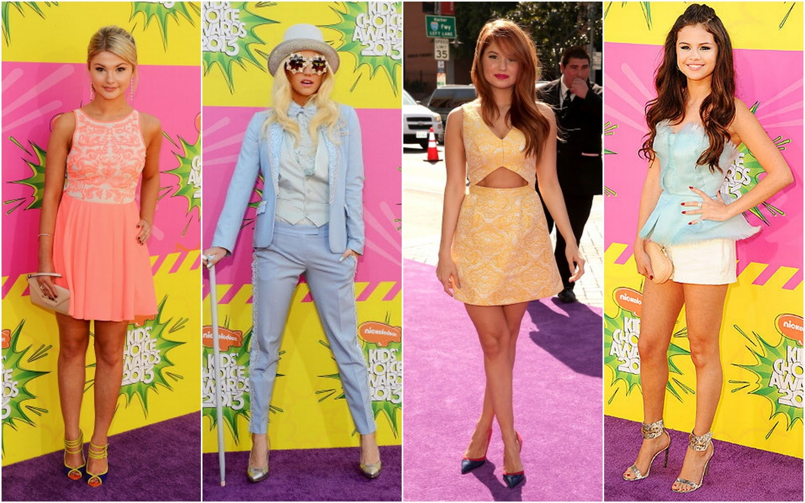 Beautifully Fierce!: Nickelodeon Kids' Choice Awards 2013.