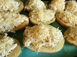 recette pommes de terre farcies au maquereau et à la ricota