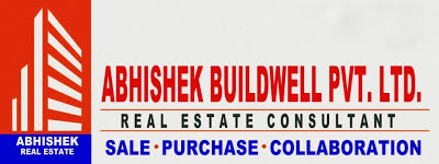 Abhishek Buildwell Pvt Ltd banner (building logo)