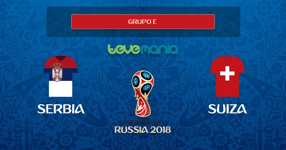 Suiza remonta el marcador y gana 2 por 1 a Serbia
