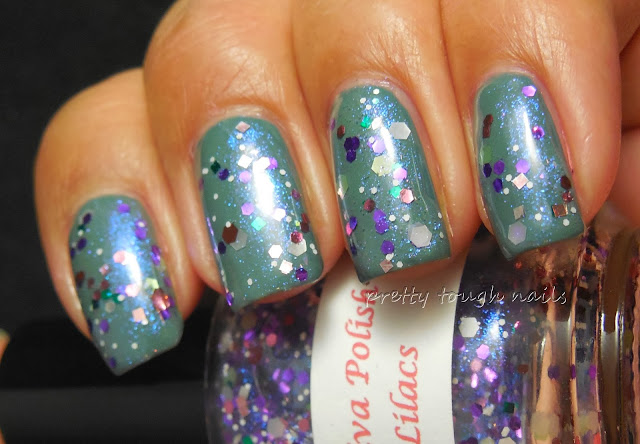 Darling Diva Lovely Lilacs Over Essie Vested Interest