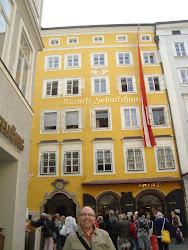 En la casa natal de Mozart. Salzburgo (11/08/12)