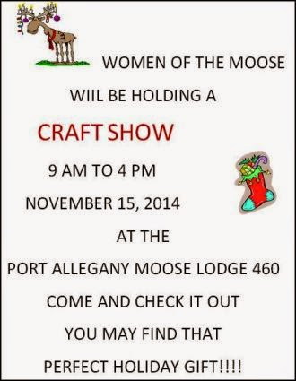 11-15 Craft Show At Port Moose
