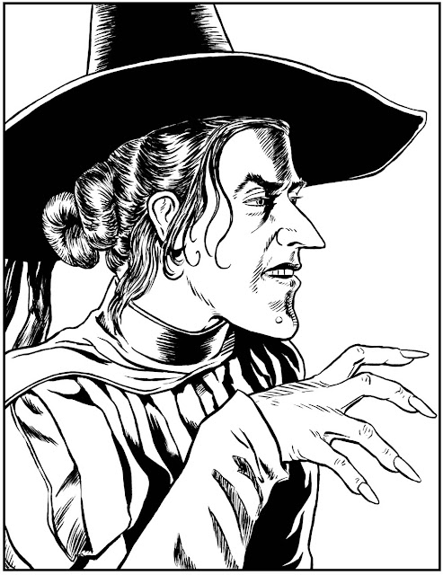 wicked witch coloring pages - photo#24