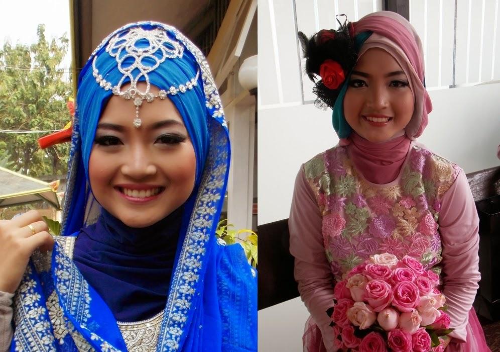 Prewedding Muslimah Makeup dan stylist jilbab oleh kreasijilbabku