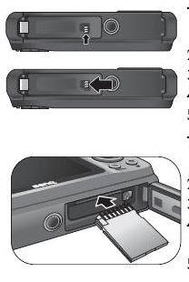 BenQ LM100 - Using an SD card