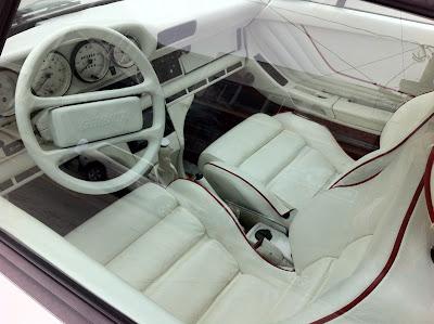1984 Porsche Gemballa Avalanche interior.