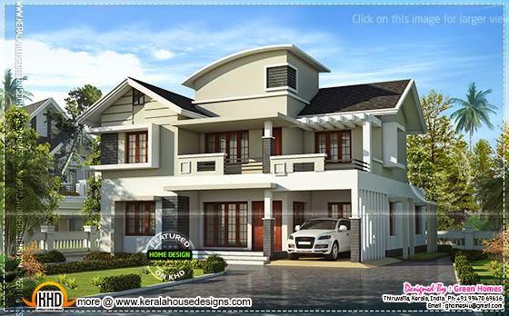 Villa beautiful exterior