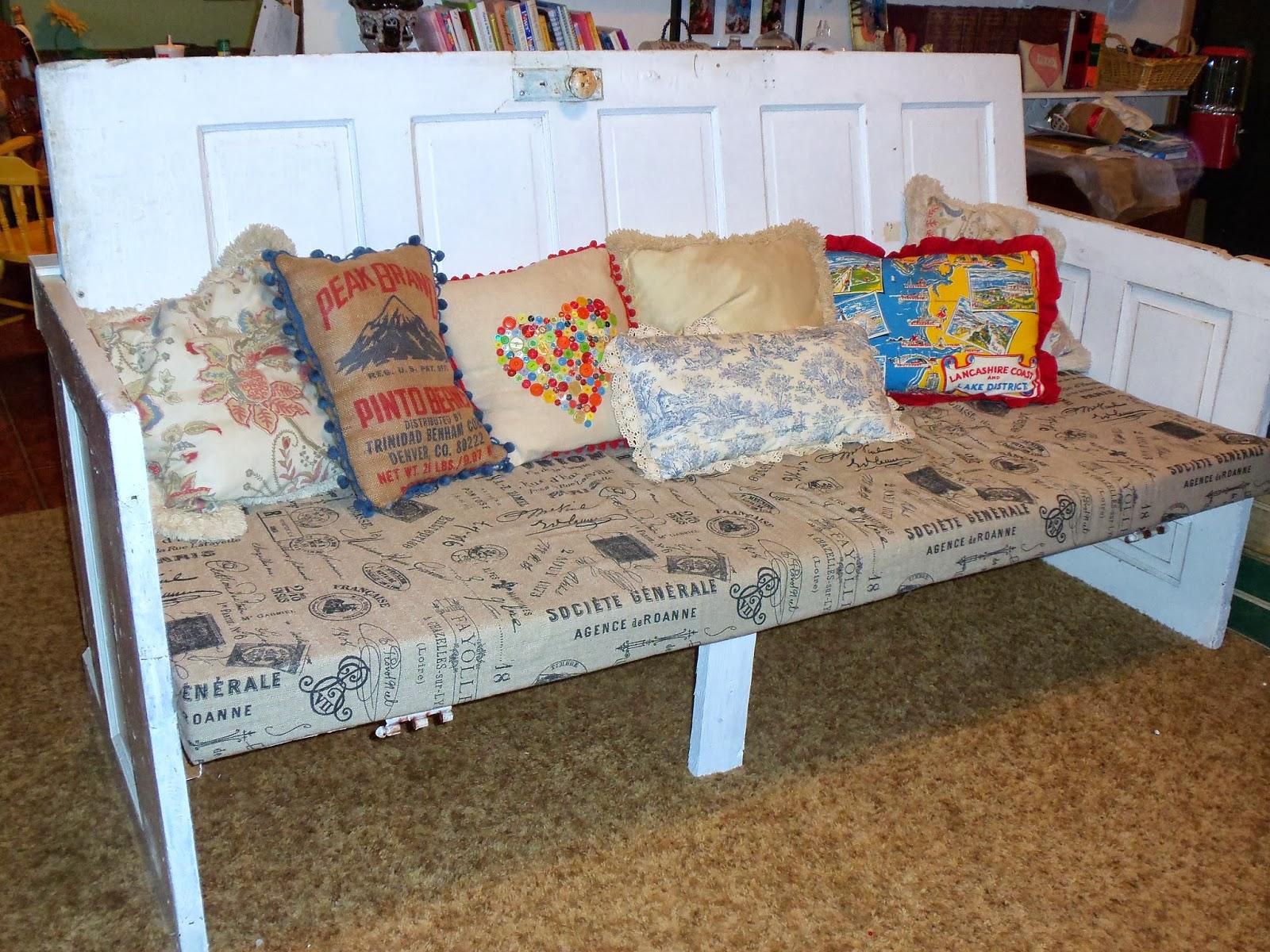 By George Itu0027s a Door Couch! & live. love. scrap.: Is it a Door?. . . Is it a Couch?. . . By George ...