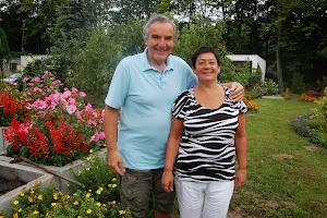 Ja z moją żoną Mariną