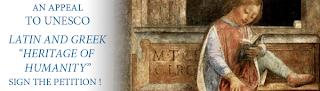 PETICIÓN A LA UNESCO PARA DECLARAR EL LATÍN Y EL GRIEGO PATRIMONIO INMATERIAL DE LA HUMANIDAD