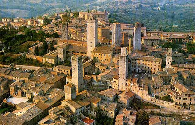 San Gimignano - La Toscana - Italia - que visitar