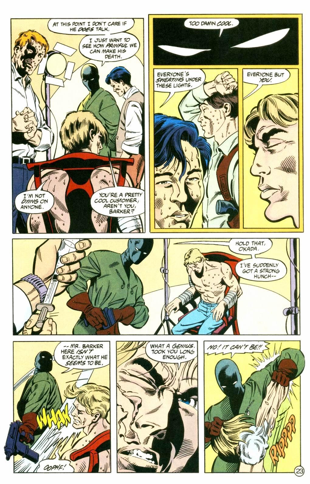 Deathstroke (1991) Issue #8 #13 - English 23