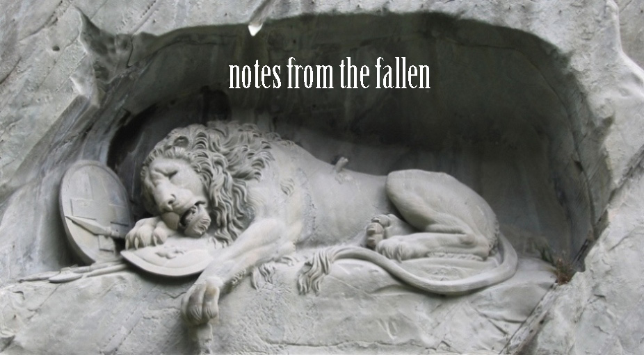 notes from the fallen