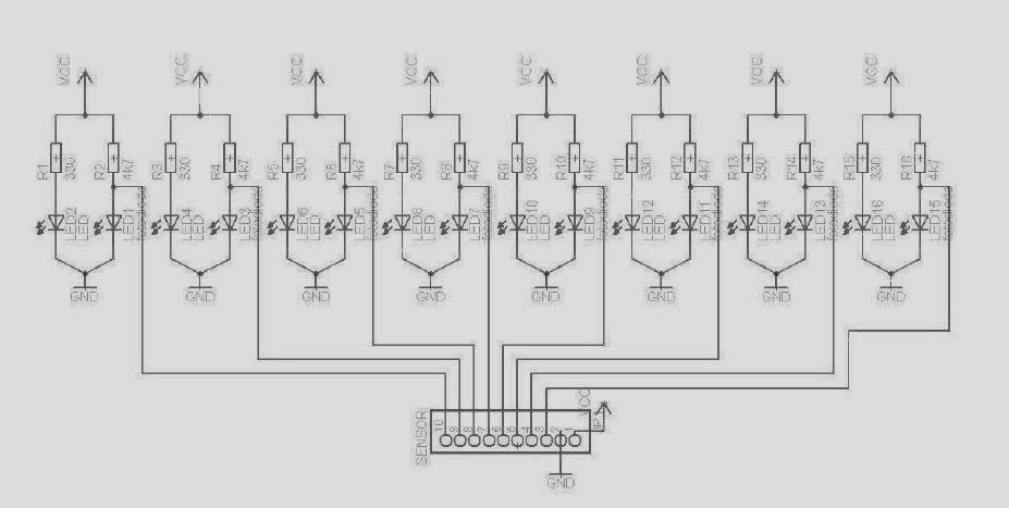 sensor garis robot line follower