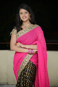 Sandeepthi Gorgeous in Designer Saree-thumbnail-15