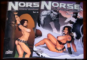Norse Comic Books are Here at Last!
