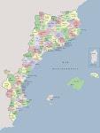 Mapa comarcal