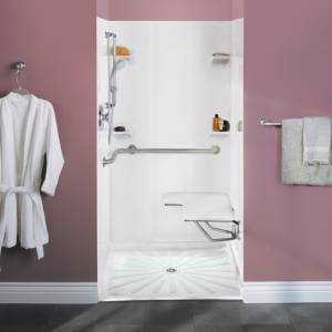 ACCESS Design And Height Of Shower Spray Unit In Transfer Type - Bathroom compartment