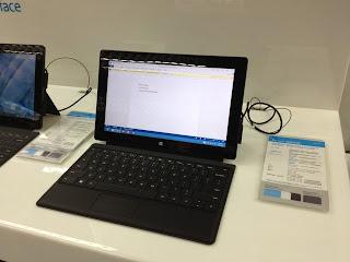 Surface RT con tastiera classica