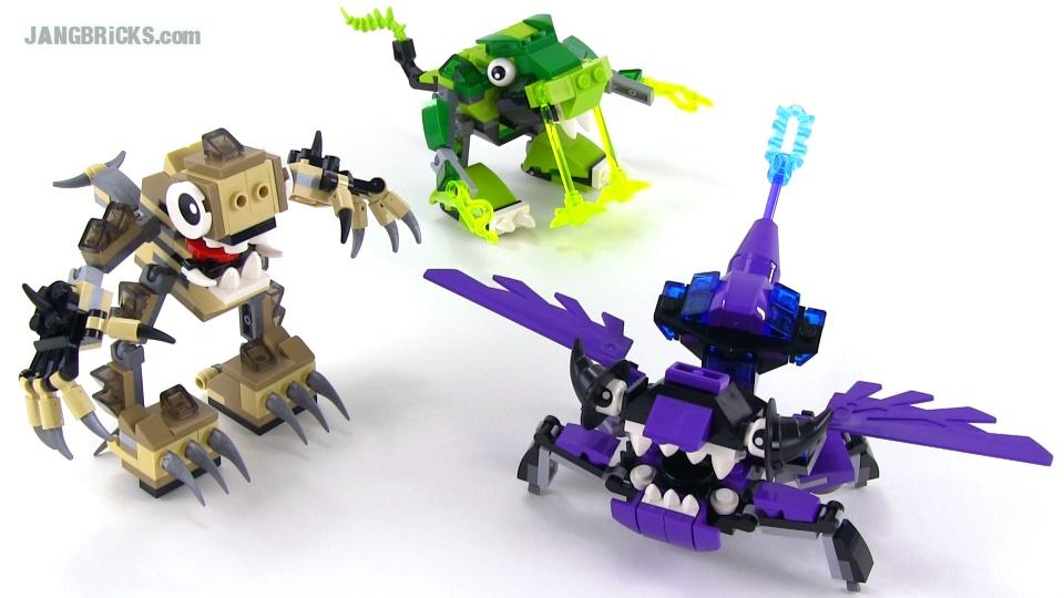 Lego Mixels Series 3 Max Combinations
