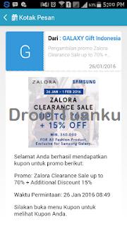 Tips Mendapatkan hadiah samsung gift - Cara Mendapatkan Hadiah pada Samsung Gift Indonesia di Android