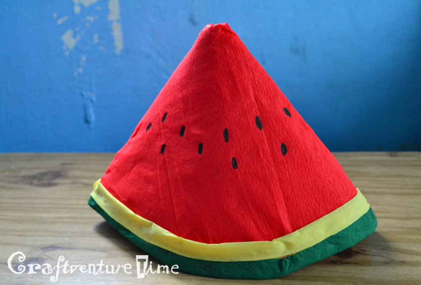 Craftventure Time Diy Fruit And Veggies Hats From Paper