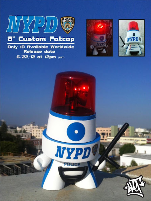NYPD Custom 8 Inch Fatcap Series by Sket One