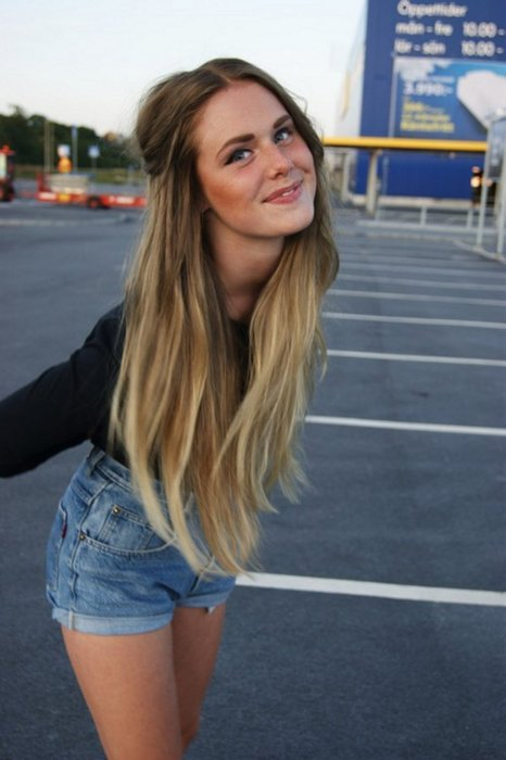 ombre hair light brown to blonde tumblr