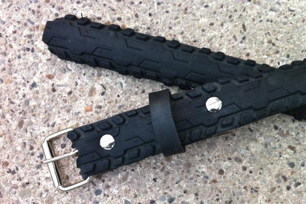 Bike Tyre Belt detail