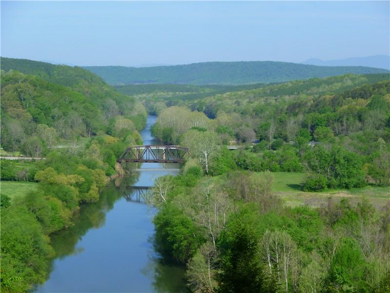 Gone hikin 39 james river state park gladstone va for Tye river cabin co
