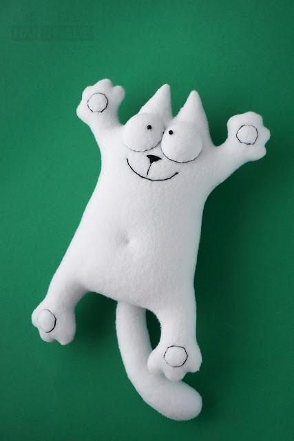 Кот Саймона. Игрушка handmade. Купить.